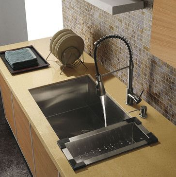 kitchen products kitchen sinks and faucets - Kitchen Sink Tap Fittings