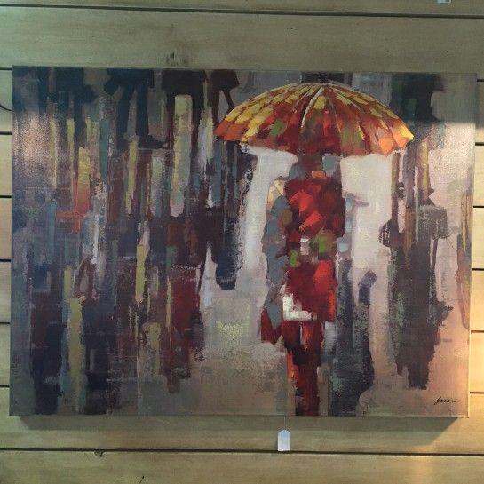 Χειροποίητος Πίνακας Ζωγραφικής Γυναίκα Με Ομπρέλα Καμβάς http://nedashop.gr/Spiti-Diakosmhsh/diakosmhtika-toixoy/xeiropoihtos-pinakas-zografikhs-kamvas-omprela