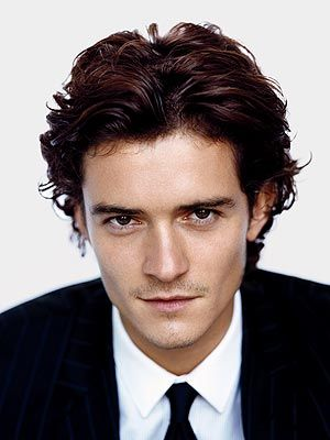 Orlando Bloom. He's on my list. You know, the one of celebrities I would leave my boyfriend for. Don't worry, he has a list too. :)