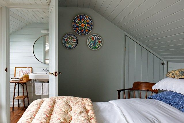 See all our guest room design ideas on HOUSE, design, food and travel by House & Garden. Interior designer Diana Sieff has made clever use of her attic, creating a pretty guest room with an en-suite bathroom.