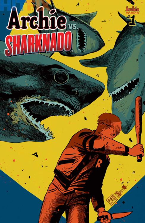ARCHIE VS. SHARKNADO #1 ONE-SHOT - Francesco Francavilla