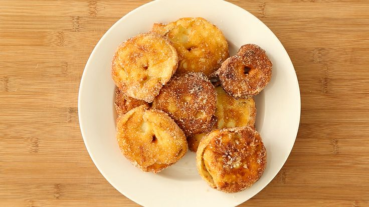apple fritter rings recipe from everyday food december 2011