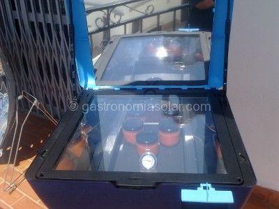 esterilizando conservas con energía solar