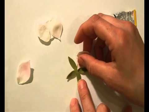 Как сделать ободок с цветами яблони из фоамирана