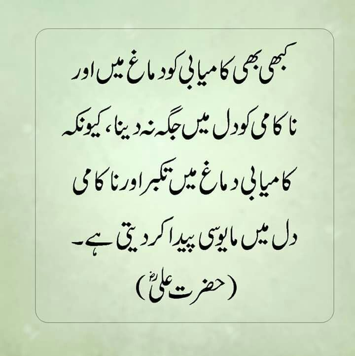Hazrat Ali Famous Quotes In Urdu: Pin By Lubna Mujahid On Islamic Quotes T Islam Hazrat Ali