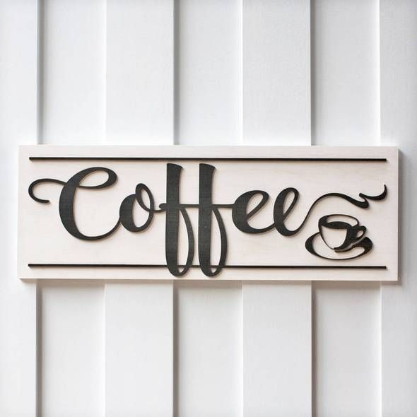 Coffee Signs Coffee Wood Signs Coffee Bar Sign Kitchen Signs Home Decor Signs Coffee Wood Signs Coffee Bar Signs Coffee Signs Diy