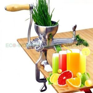a 304 stainless steel bar hand press juicer fruit vegetable juicer squeezer home