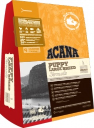 ACANA Puppy Large Breed  For puppies 25kg (55lbs) and over at maturity