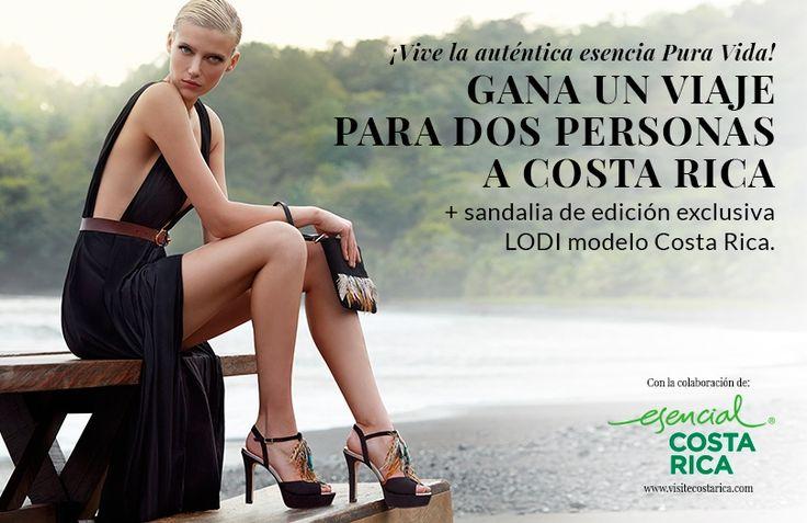 ¡Gana un viaje a Costa Rica   sandalias LODI!