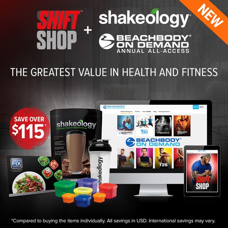 LOVING Beachbody on Demand - Beachbody's streaming service paired with Shift Shop and it's meal plan!