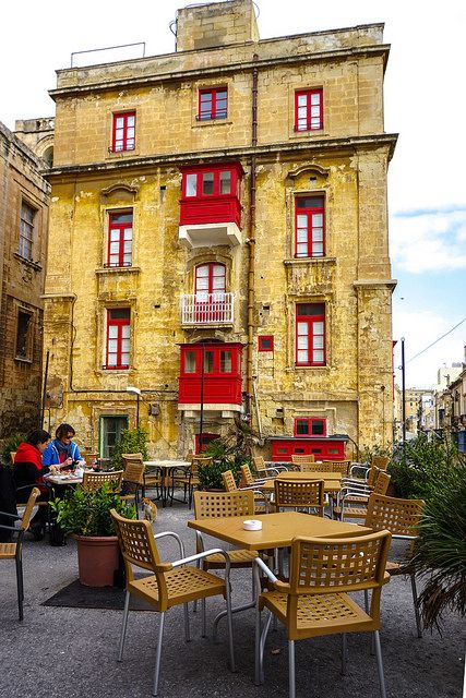 Valletta, Malta. Malta has the beautiful Mediterranean Sea, a warm and sunny climate, a peaceful lifestyle waiting to be lived...