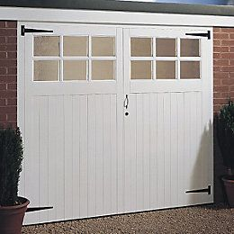 View Available Separately Side Hung Pair Of Doors Garage Door, (H)2134mm (W)2134mm details