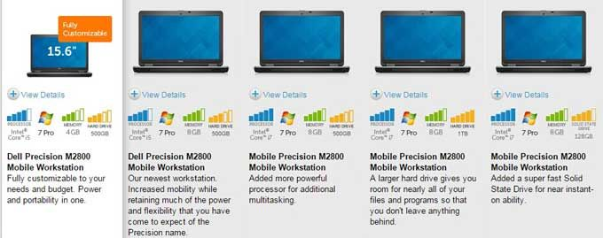 Save Upto 35% Dell Precision M2800 Mobile Workstation Coupon Promo Code and Discount   Get Extra $75Discount on the basis of the Dell Original Discount! M2800Performance Price:$1,714.00, Save $846.00, 33% Discount M2800EnhancedPrice:$1415.00, Save $717.43, 34% Discount M2800 EssentialPrice:$1304.00, Save $666.00, 34% Discount M2800 NewestPrice:$974.00, Save $524.57, 35% Discount M2800Fully CustomizablePrice:$915.00, Save $503.14, 35% Discount App