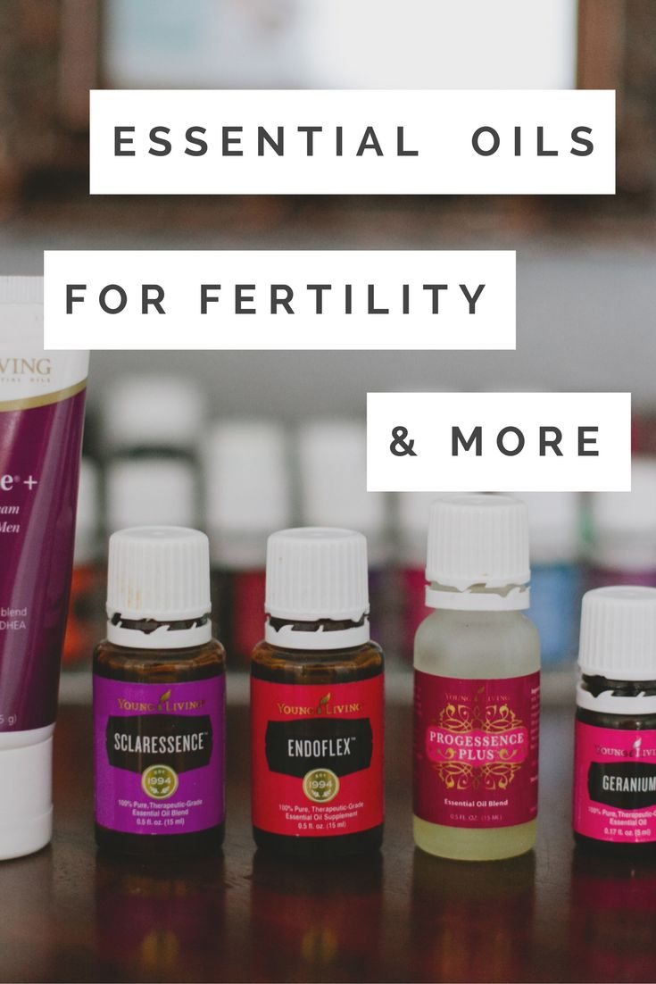 Essential Oils for Fertility -  Essential Oils for Hormone Balance - Essential…