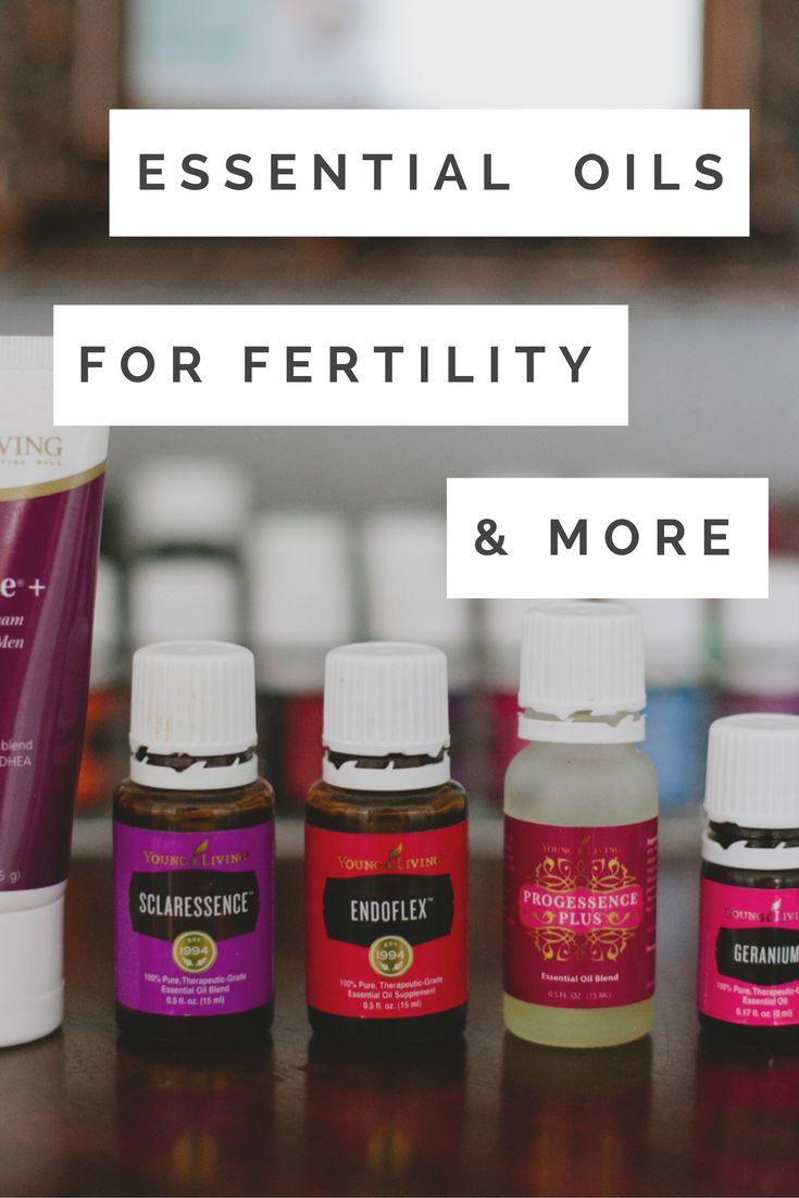 Essential Oils for Fertility -  Essential Oils for Hormone Balance - Essential…