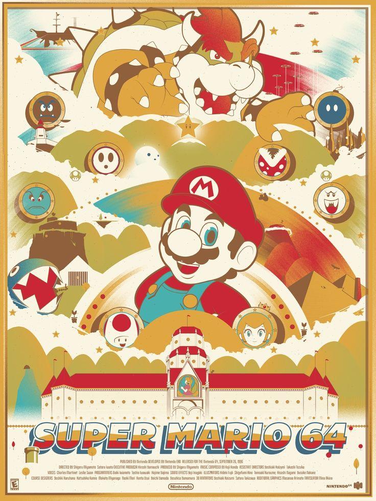 Super Mario 64 - Created byMarinko Milosevski