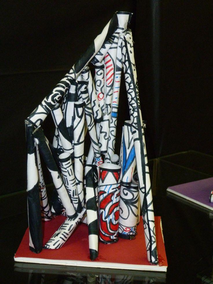 Elements Of Art Line Quizlet : Debuffet inspireret papir skulptur undervisning art