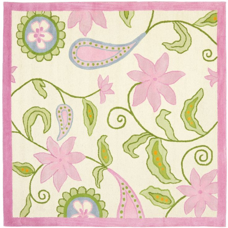Safavieh Kids Rug Ivory Pink At Lowe S Canada Find Our Selection Of Runners The Lowest Price Guaranteed With Match Off
