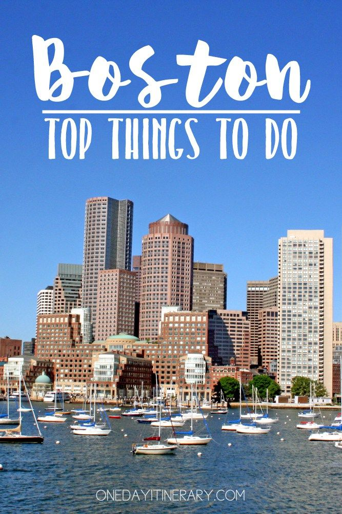 One Day In Boston 2020 Guide Top Things To Do With Images