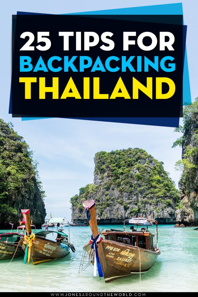 Thailand is the ultimate destination for beginner backpackers.  Check out these 25 tips that will help you out during your travels in one of the most beautiful countries in the world!