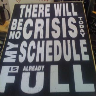 Crisis-canvas seen at Gordmans store