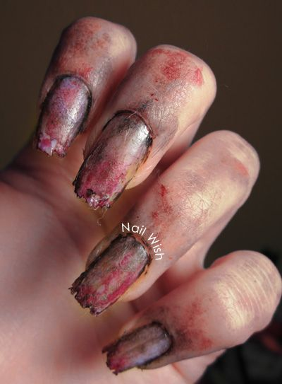 Nail Wish: Halloween Challenge #3: Zombies