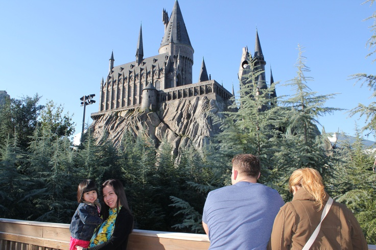 Harry Potter land in Universal