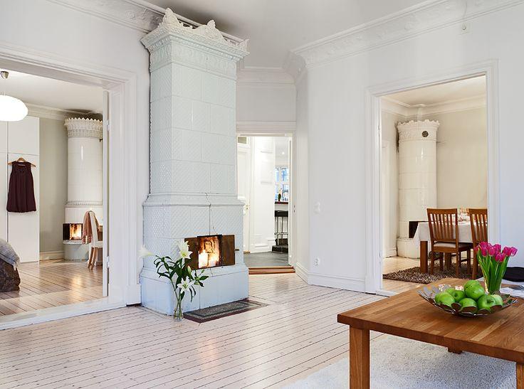 Swedish tile stoves