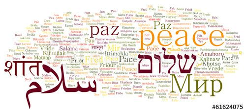 peace in different languages