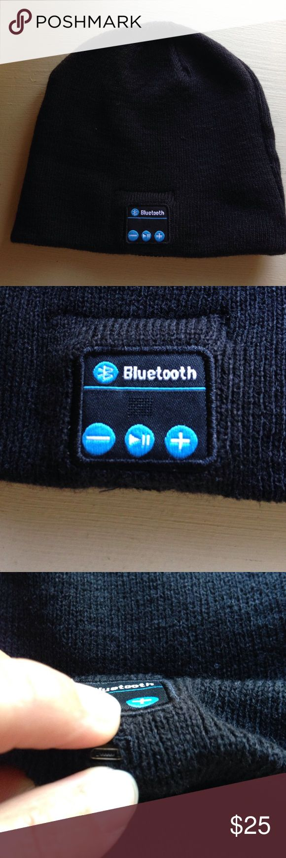 Bluetooth Beanie Bluetooth capable beanie. Compatible with all phone types. Stay warm and jam!!! 😎 like new only connected my phone to check out the sound. Accessories Hats