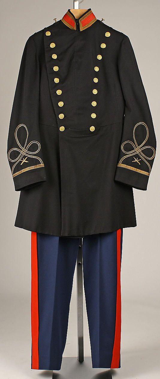 Military Uniform; Brooks Brothers : 1913