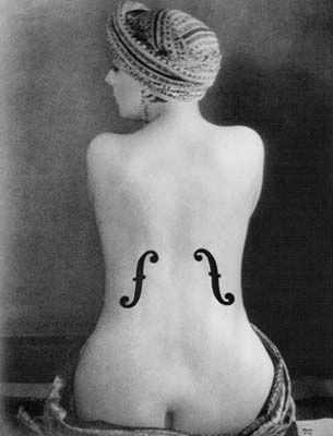 Kiki de Montparnasse. French nude model, cabaret singer, actress, and painter. Muse to many 1920s surrealist artists, including lover, filmmaker and photographer Man Ray, who took this photo of her.