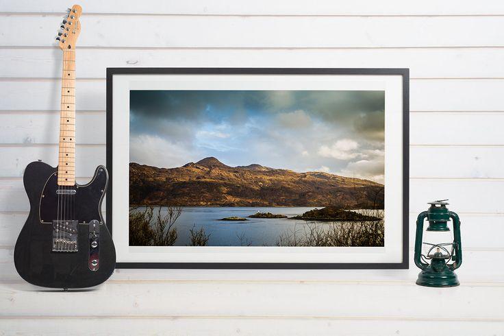 Scotland, Loch Ness, landscape, beautiful, cloudy by Anovva on Etsy
