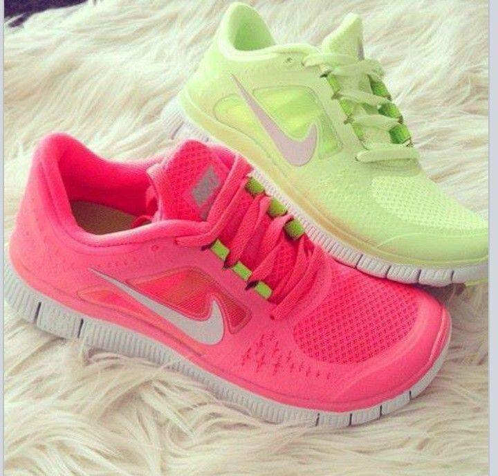 Nike Free Run Rosa Fluo
