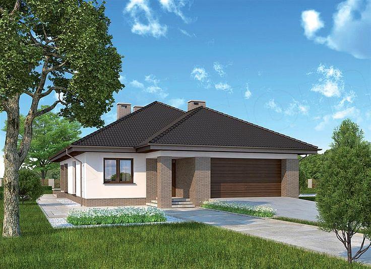 Projekt domu Murator M172 Wiosenny powiew