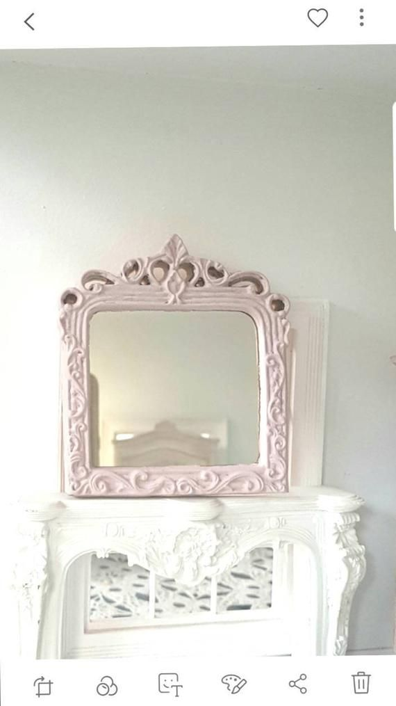 Ornate Mantle Mirror Dolls house miniatures
