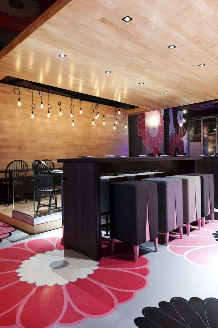 Kinoya Japanese Bistro Design By Jean De Lessard   Architecture U0026 Interior  Design Ideas And Online