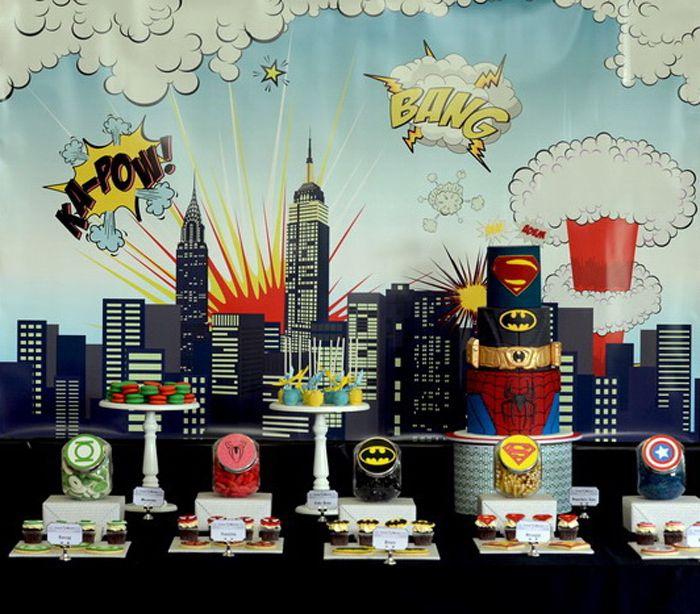 Superhero Birthday Party by Amra Valentincic of Australia, Photography: Shutter Photography