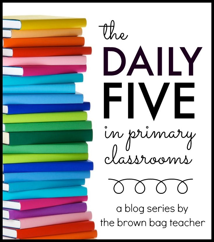 AMAZING ideas and posts for using the Daily 5 and getting started. DOZENS of posts!! The Brown-Bag Teacher: The Daily 5 in Primary Classrooms