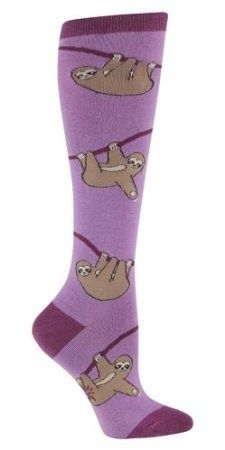 Climbing sloth socks. | 16 Sloth-Centric Wardrobe Ideas You Have To Own