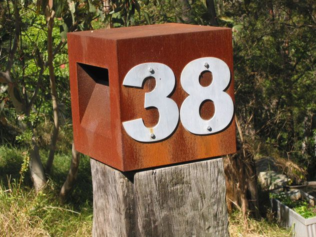 Sturdy Letter Box -- Number 38!