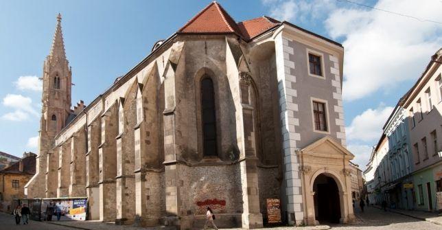 wwzf Klarisszák temploma - Pozsony - Felvidék 2