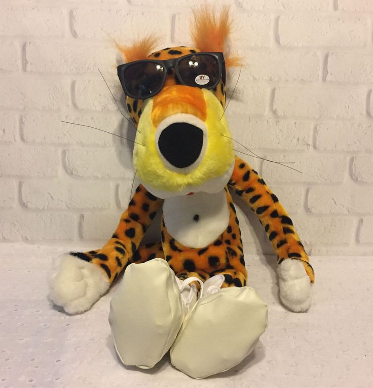 "Chester Cheetah 20"" Plush Stuffed Frito Lay Cheetos Advertising Greystone  | Collectibles, Advertising, Merchandise & Memorabilia | eBay!"