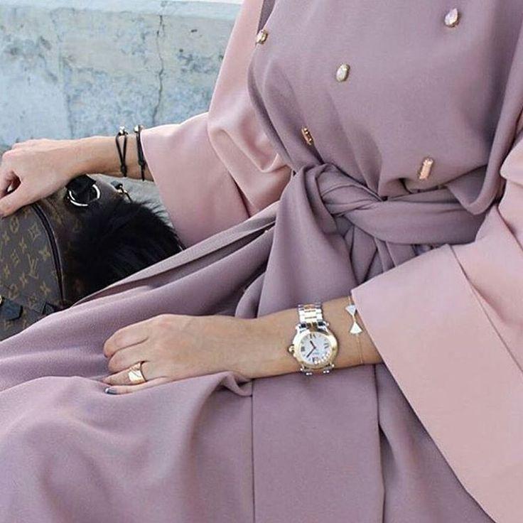 Mauve Abays #modestfashion#abaya