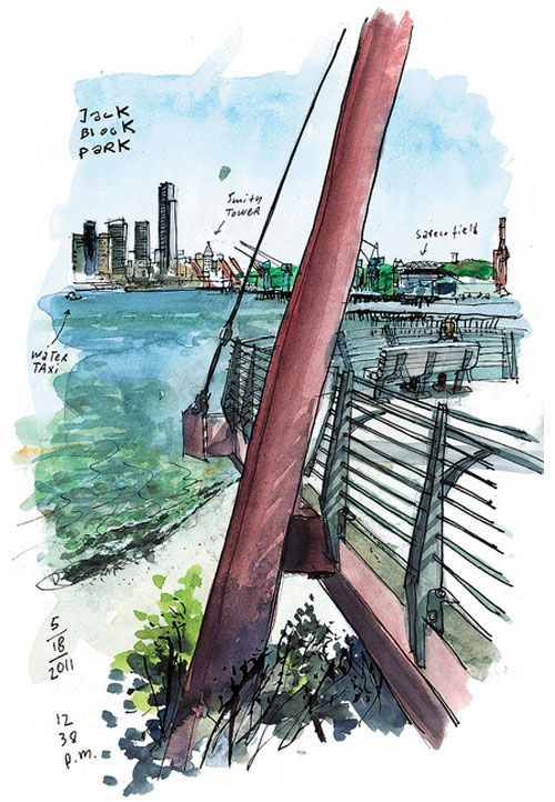 An Interview with Gabriel Campanario, the Seattle Sketcher