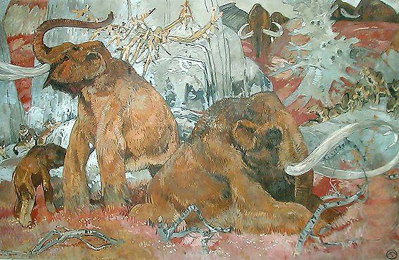 Les mammouths (M. Méheut)