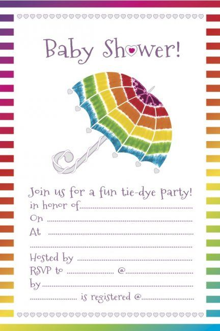 How to throw a tie-dye baby shower | #BabyCenterBlog