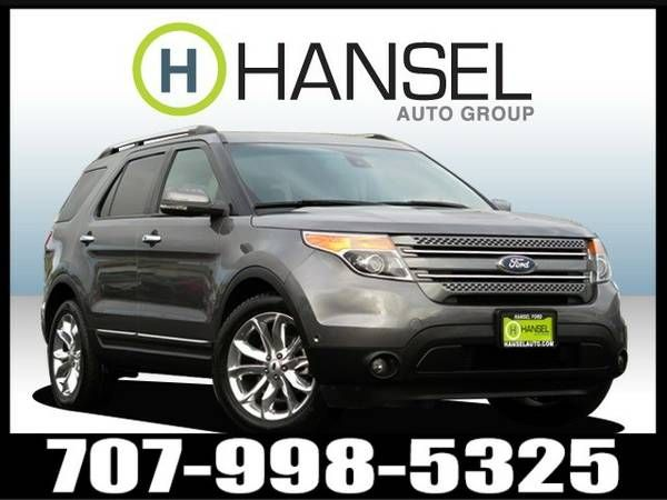 2013 Ford Explorer 4D Sport Utility Limited