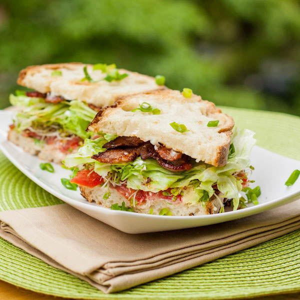 lobster club sandwich avocado and sprout club sandwich recipe yummly ...