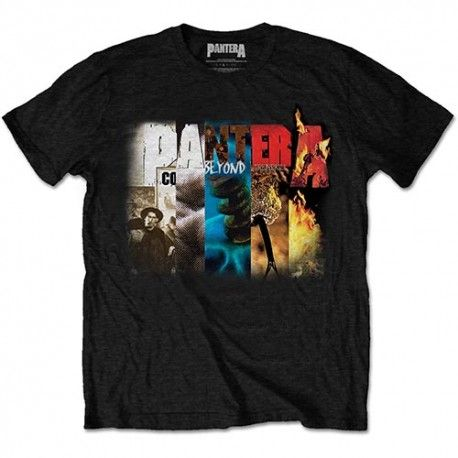 Tricou Pantera: Album Collage